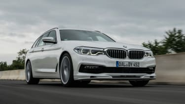 BMW Alpina D5 S Touring - front action