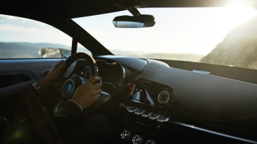 Renault Alpine Vision concept - interior 2