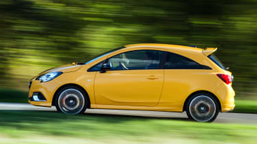 Vauxhall Corsa GSi - side