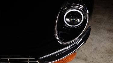"""""""Unleashed"""" Jaguar E-Type restomod - headlight"""