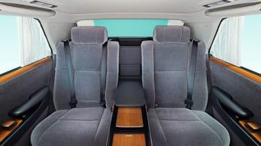 2018 Toyota Century - seats rear