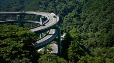 Nandaru Loop Bridge, Japan