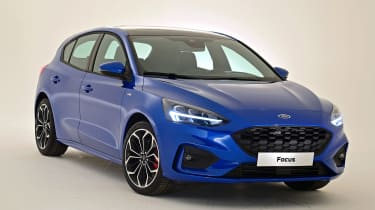 New Ford Focus S-Line studio - front