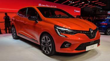 Renault Clio - Geneva front