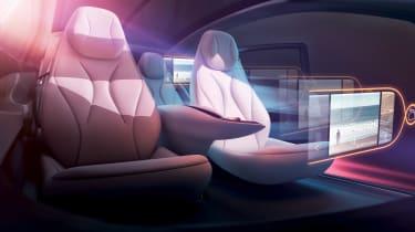 Volkswagen I.D Vizzion - studio seats
