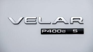 Range Rover Velar P400e - rear badge