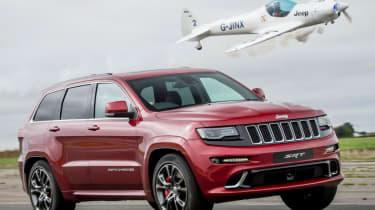 Best motoring features 2016 - Jeep vs plane