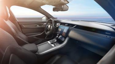 Jaguar XF R-Dynamic Black - interior