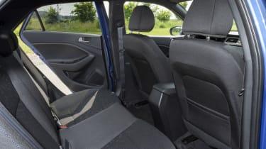 Hyundai i20 back seats