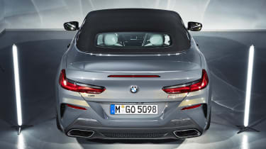 BMW 8 Series Convertible - rear roof down