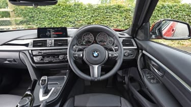 BMW 3 Series - interior