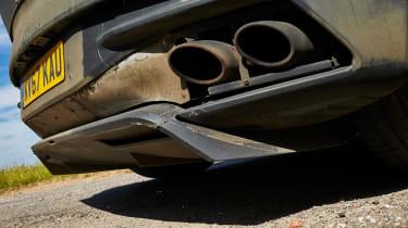 Aston Martin DBS Superleggera prototype - exhaust