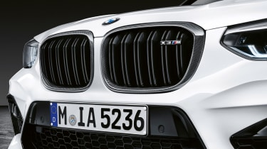 BMW X3 M with M Performance parts - grille
