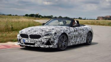 BMW Z4 prototype - front