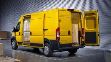 Vauxhall Movano-e - rear static