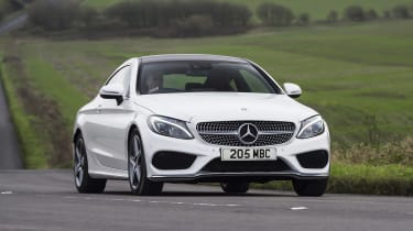 Mercedes C-Class Coupe - front action