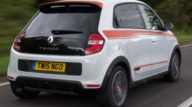 Triple test –Renault Twingo - rear quarter