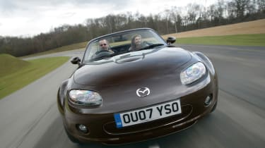 2005 brought the arrival of the third generation Mazda MX-5 a significant step forward from the mk2 car with multi-link rear suspension, traction control, stability control and a beautifully simple roof mechanism added. It was named as