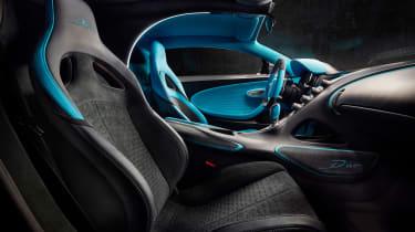 Bugatti Divo - seats