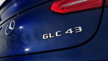 Mercedes-AMG GLC 43 Coupe - GLC 43 badge