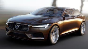 Volvo Concept Estate front