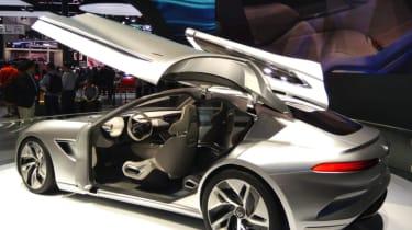 Hybrid Kinetic Group with Pininfarina rear