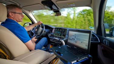 BMW i Hydrogen - driving