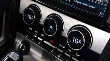 Jaguar F-Type Coupe V6 buttons