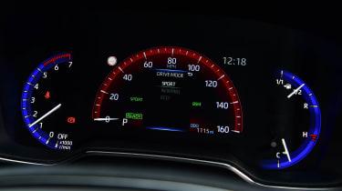 Suzuki Swace - sport dials