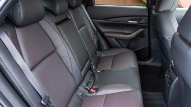 New Mazda CX-30 2021 - rear seats