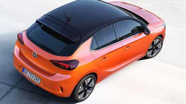 Vauxhall Corsa  - leaked rear static