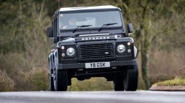 Land Rover Defender Works V8 - full front