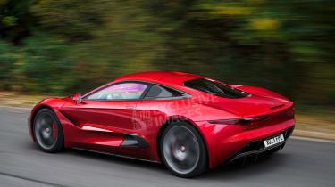 Jaguar F-Type - rear (watermarked)