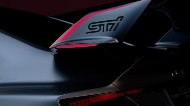 Subaru Viziv Performance STI concept - teaser spoiler