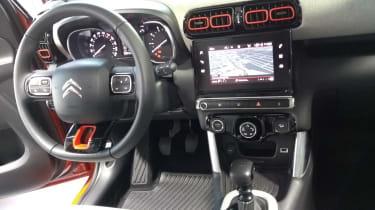 Citroen C3 Aircross cabin