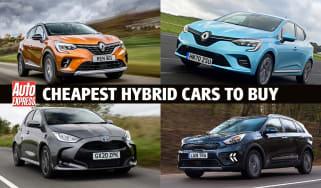 Cheapest hybrid cars to buy - header