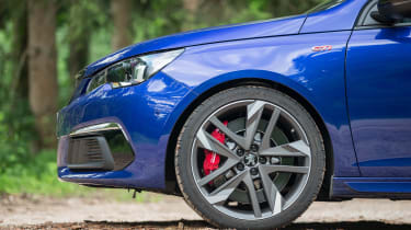 Peugeot 308 GTi review - wheel