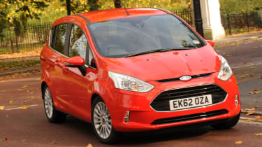 Ford B-MAX front cornering