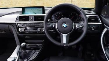 BMW 420d M Sport - dash