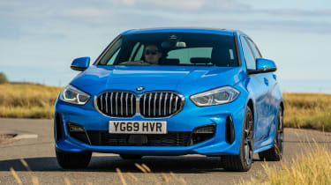 BMW 1 Series - front cornering