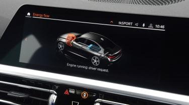 BMW 330e - interior