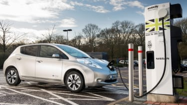 Electric car charging in the UK - header