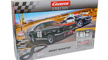 Best Scalextric and slot car sets 2017/2018 - Carrera Evolution Most Wanted