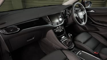 Vauxhall Astra new Ultimate trim interior