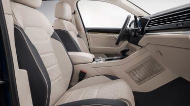 Volkswagen Touareg - front seats