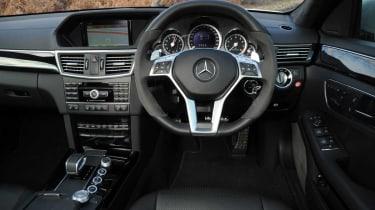 Mercedes E63 AMG interior