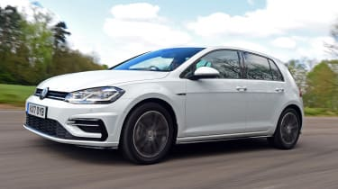 Volkswagen Golf R-Line - front action