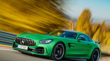 Mercedes-AMG GT R - front tracking