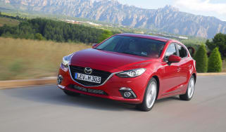Mazda 3 hatchback 2013 front action