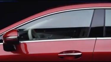 Mercedes CLS window